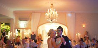 Pierwszy taniec młodej pary